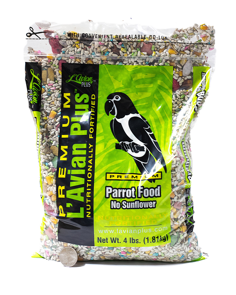 L'Avian Parrot No Sunflower 4lbs