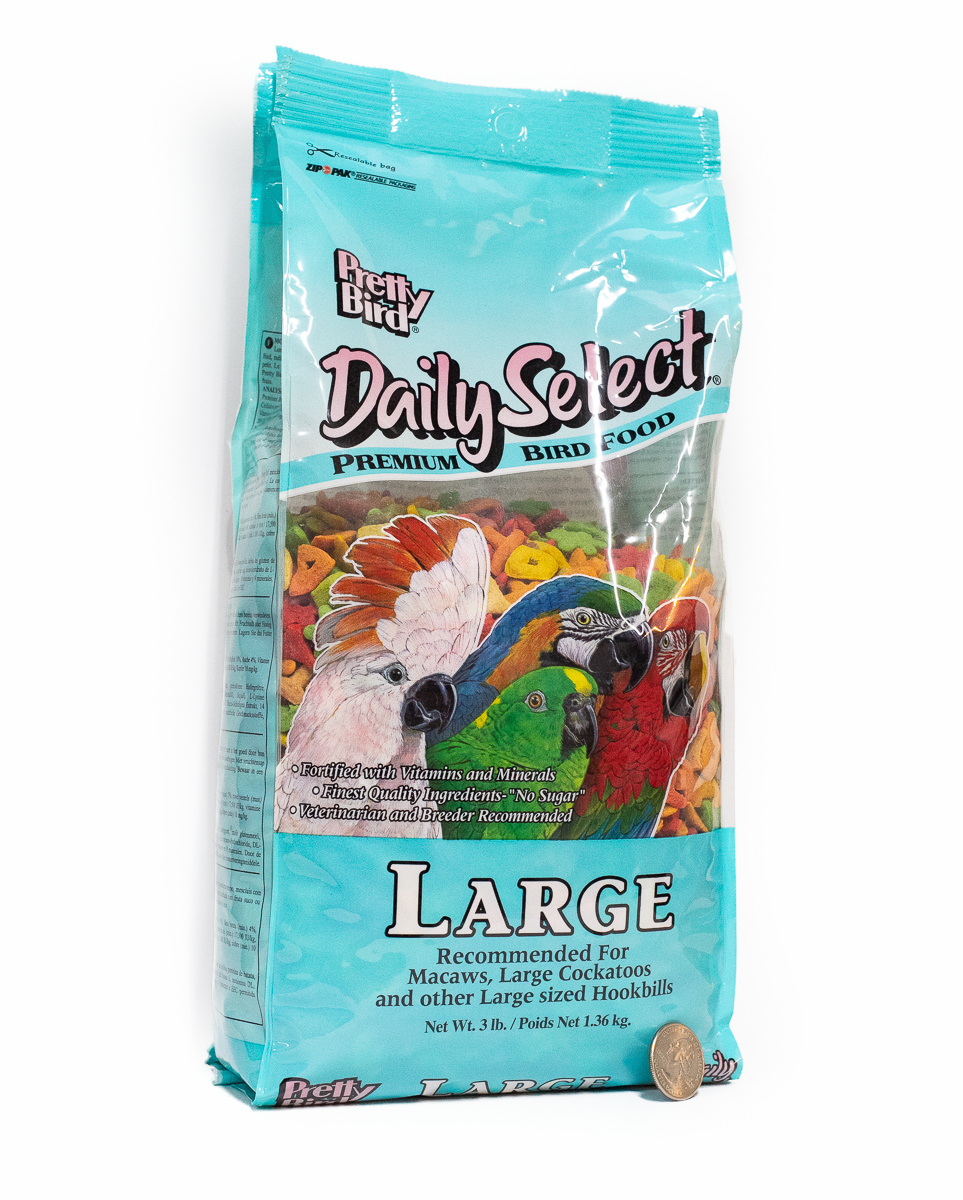 Pretty Bird Daily Select for Large Birds 20lbs