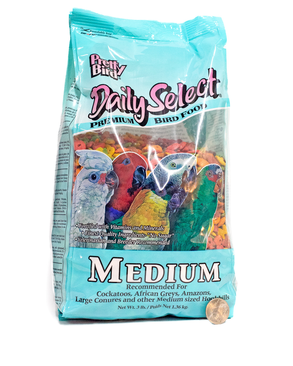 Pretty Bird Daily Select for Medium Birds 3lbs
