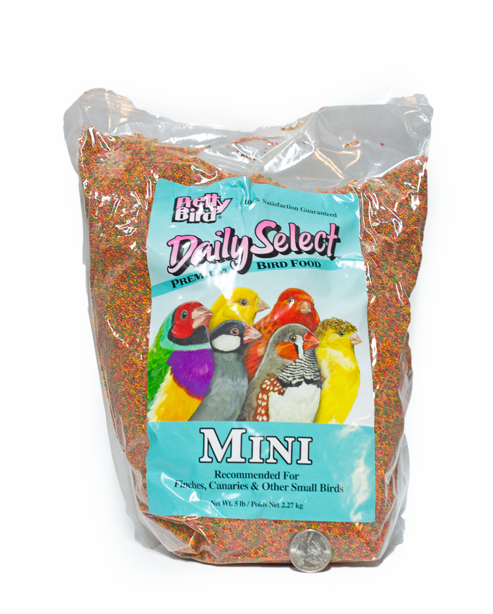 Pretty Bird Daily Select for Mini Birds 5lbs
