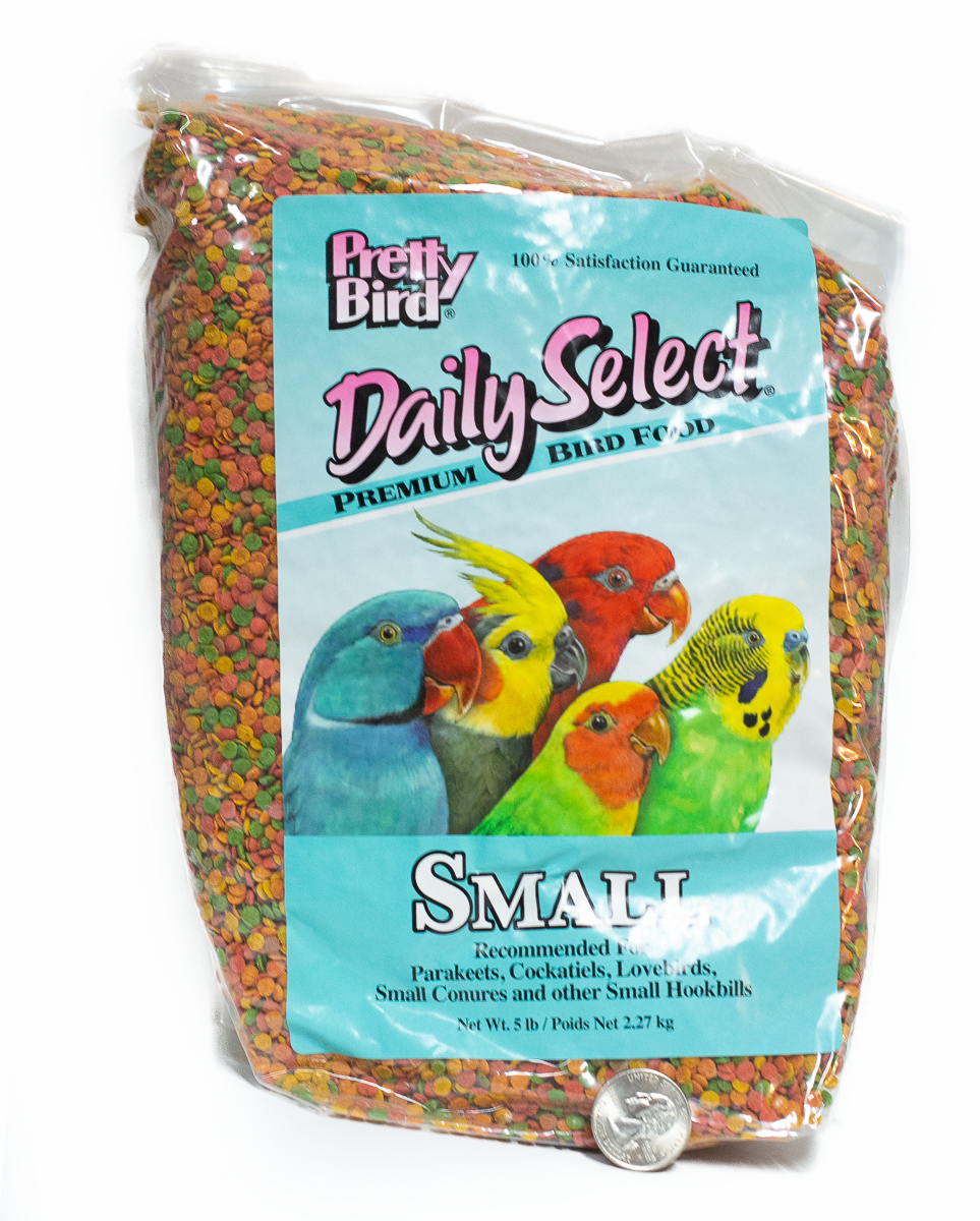 Pretty Bird Daily Select for Small Birds 2lbs