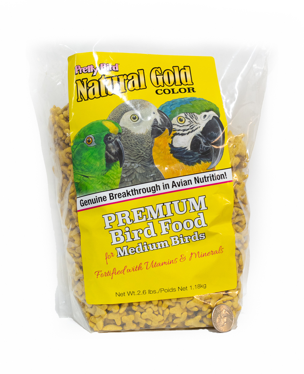 Pretty Bird Natural Gold 2lbs