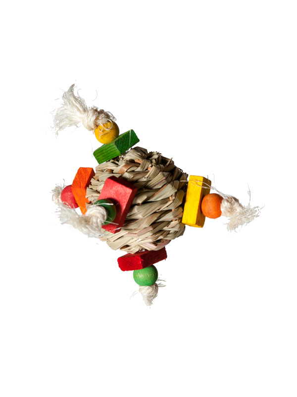 Hay Ball Foot Toy