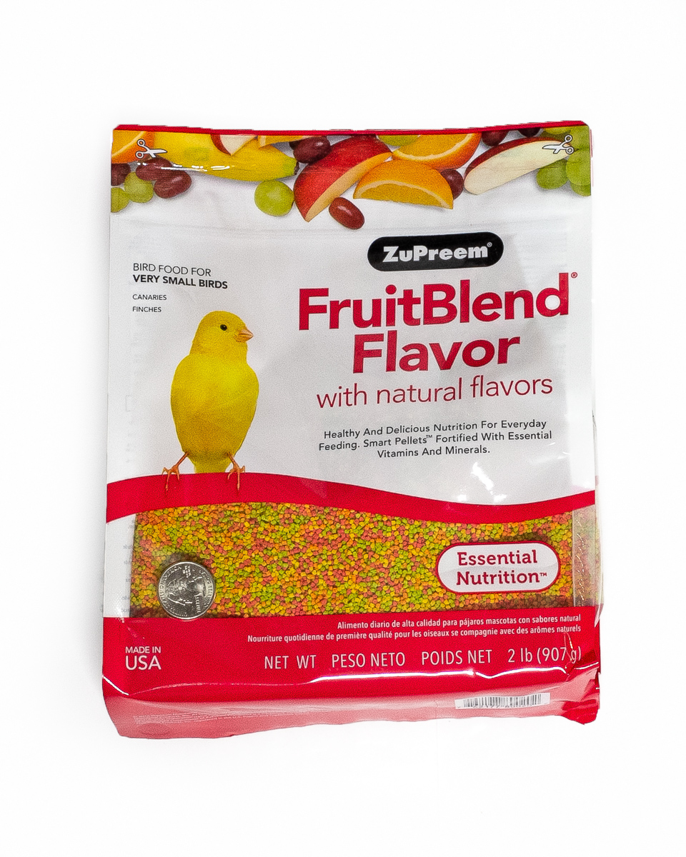Zupreem Canary/Finch Fruit Blend 2lbs