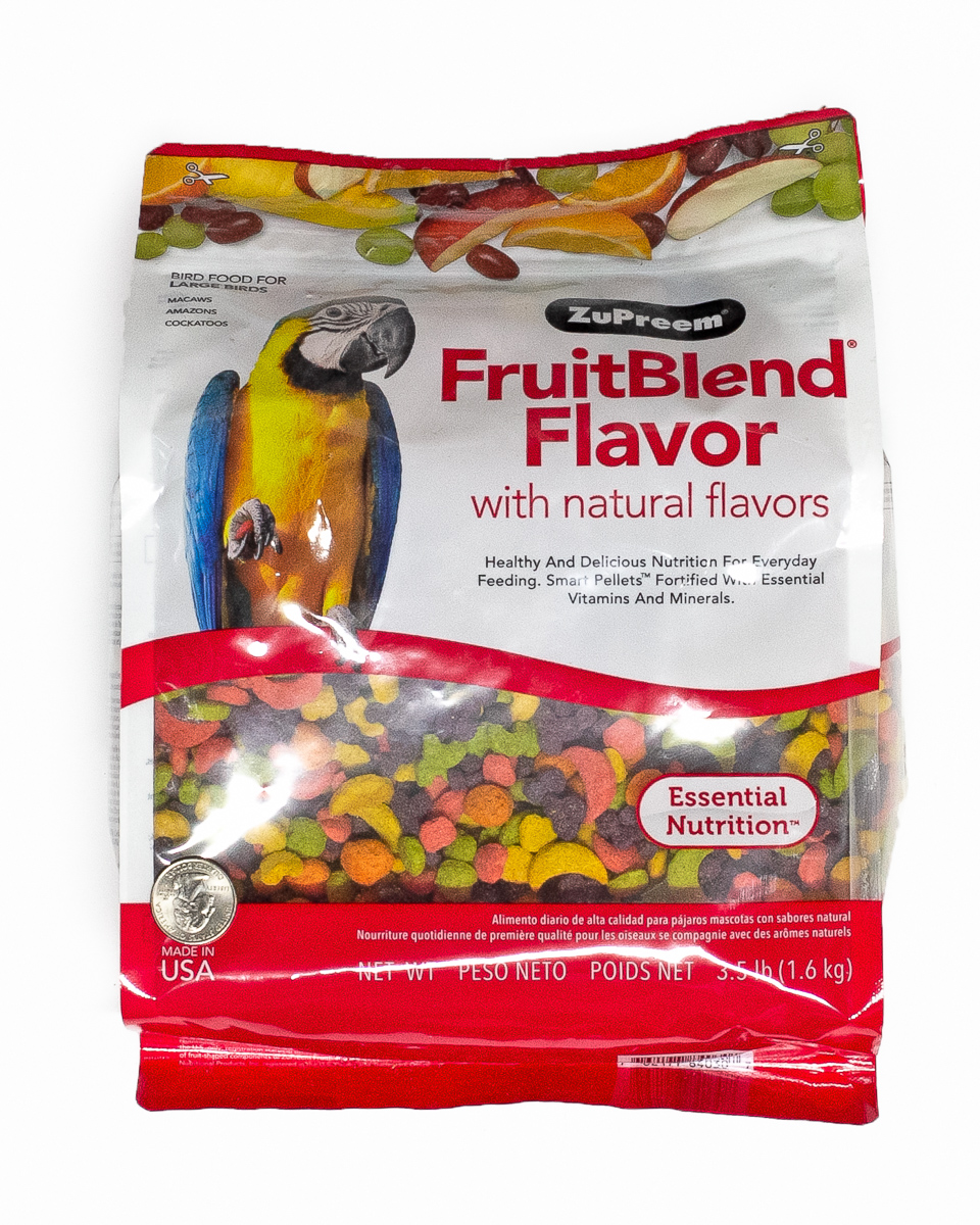 Zupreem Large Parrot Fruit Blend 3.5lbs